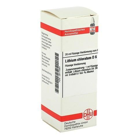 LITHIUM CHLORATUM D 6 Dilution 20 Milliliter