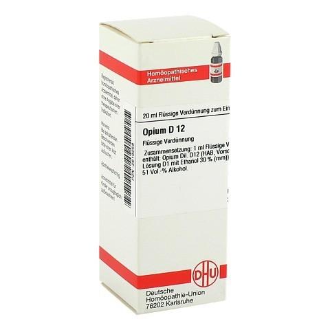 OPIUM D 12 Dilution 20 Milliliter N1