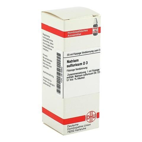 NATRIUM SULFURICUM D 3 Dilution 20 Milliliter N1