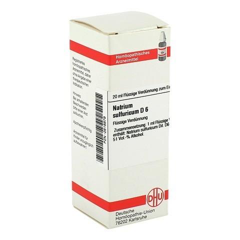 NATRIUM SULFURICUM D 6 Dilution 20 Milliliter N1