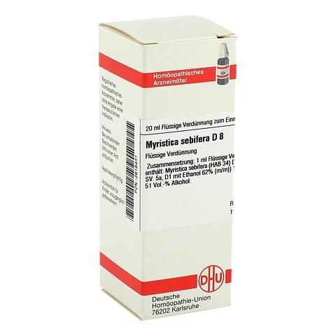 MYRISTICA SEBIFERA D 8 Dilution 20 Milliliter N1