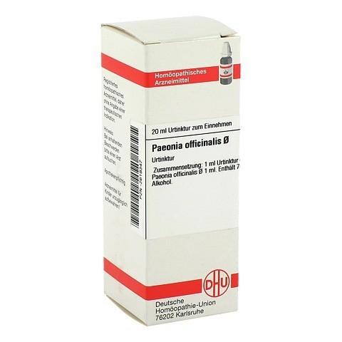 PAEONIA OFFICINALIS Urtinktur 20 Milliliter N1