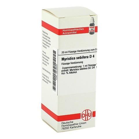 MYRISTICA SEBIFERA D 4 Dilution 20 Milliliter N1