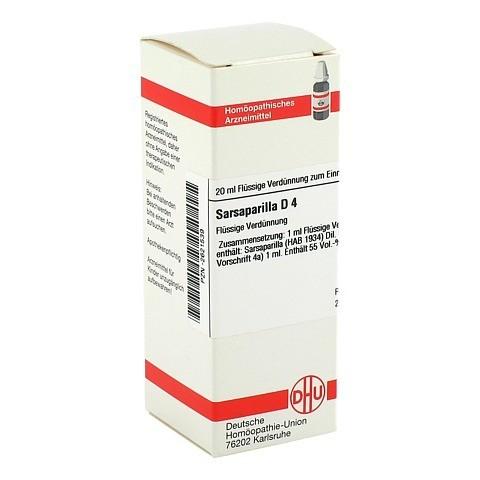 SARSAPARILLA D 4 Dilution 20 Milliliter N1