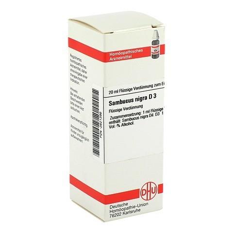 SAMBUCUS NIGRA D 3 Dilution 20 Milliliter N1