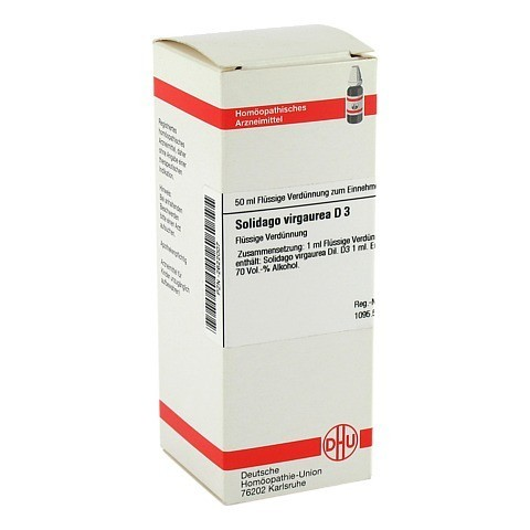 SOLIDAGO VIRGAUREA D 3 Dilution 50 Milliliter N1