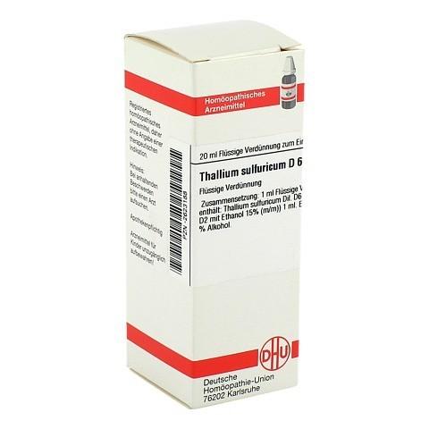 THALLIUM SULFURICUM D 6 Dilution 20 Milliliter N1