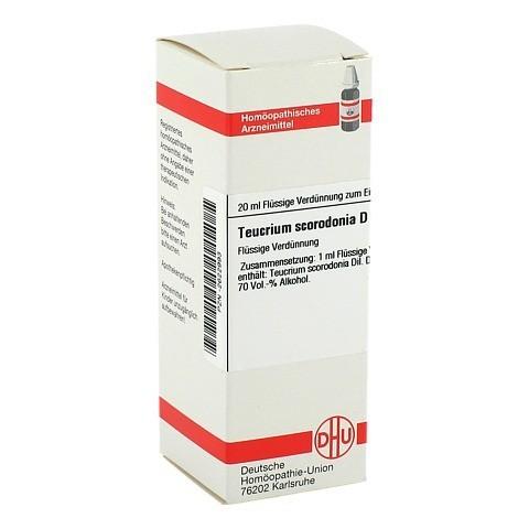 TEUCRIUM SCORODONIA D 3 Dilution 20 Milliliter N1