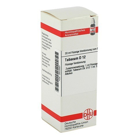 TABACUM D 12 Dilution 20 Milliliter N1
