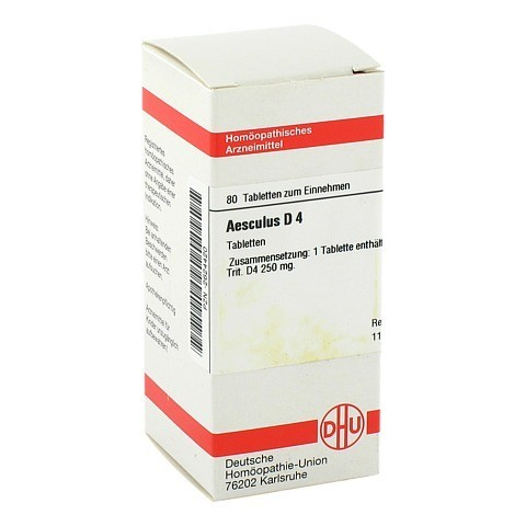 AESCULUS D 4 Tabletten 80 Stück N1