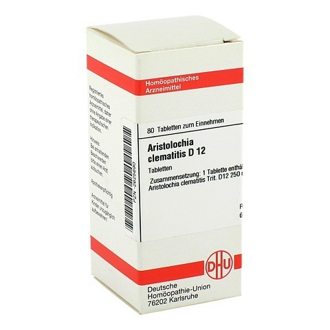 ARISTOLOCHIA clematitis D 12 Tabletten 80 Stück N1
