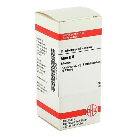 ALOE D 6 Tabletten 80 Stück N1