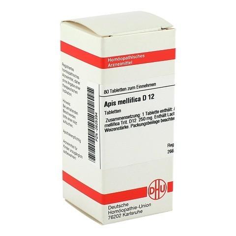 APIS MELLIFICA D 12 Tabletten 80 Stück N1