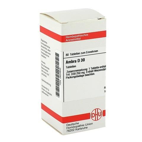 AMBRA D 30 Tabletten 80 Stück