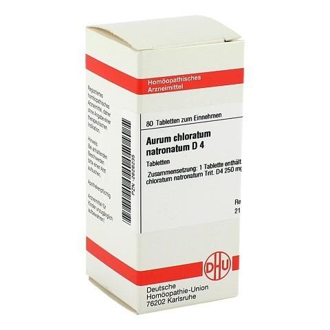 AURUM CHLORATUM NATRONATUM D 4 Tabletten 80 Stück N1