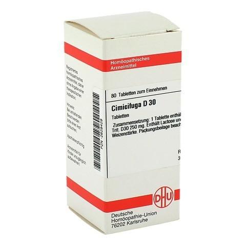 CIMICIFUGA D 30 Tabletten 80 Stück
