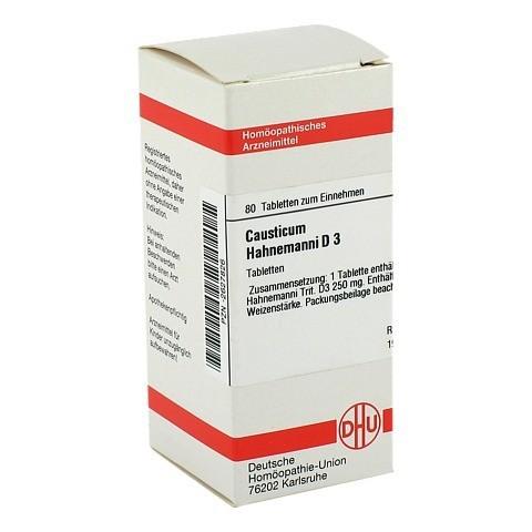 CAUSTICUM HAHNEMANNI D 3 Tabletten 80 Stück N1