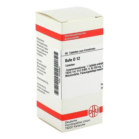 BUFO D 12 Tabletten 80 Stück N1