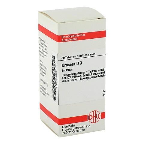 DROSERA D 3 Tabletten 80 Stück N1