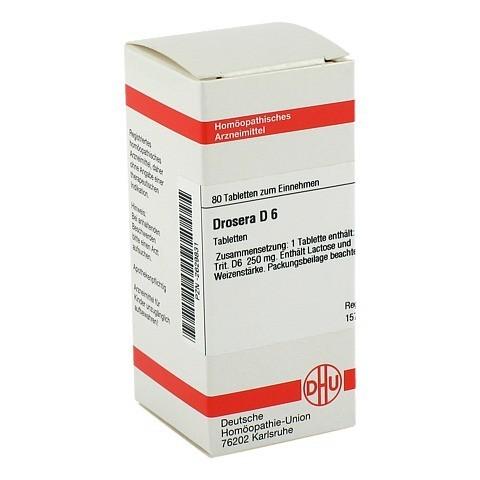 DROSERA D 6 Tabletten 80 Stück N1