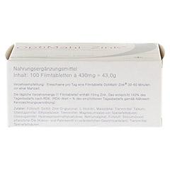 OPTIMAHL Zink 15 mg Tabletten 100 Stück - Oberseite