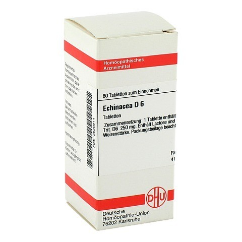 ECHINACEA HAB D 6 Tabletten 80 Stück N1