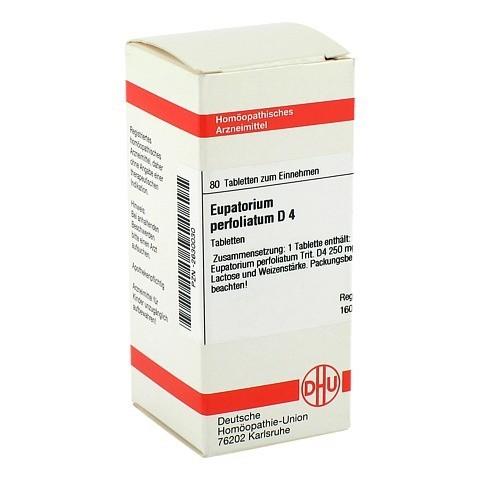 EUPATORIUM PERFOLIATUM D 4 Tabletten 80 Stück N1