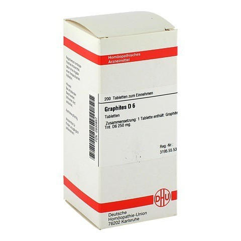 GRAPHITES D 6 Tabletten 200 Stück N2