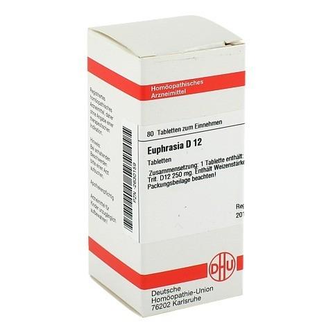 EUPHRASIA D 12 Tabletten 80 Stück N1