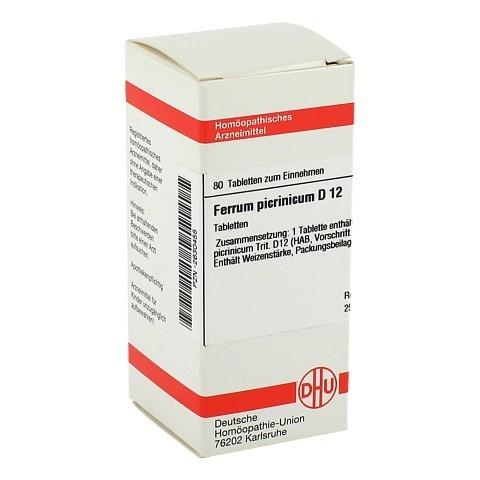 FERRUM PICRINICUM D 12 Tabletten 80 Stück N1
