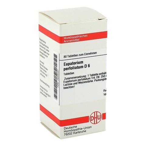 EUPATORIUM PERFOLIATUM D 6 Tabletten 80 Stück N1