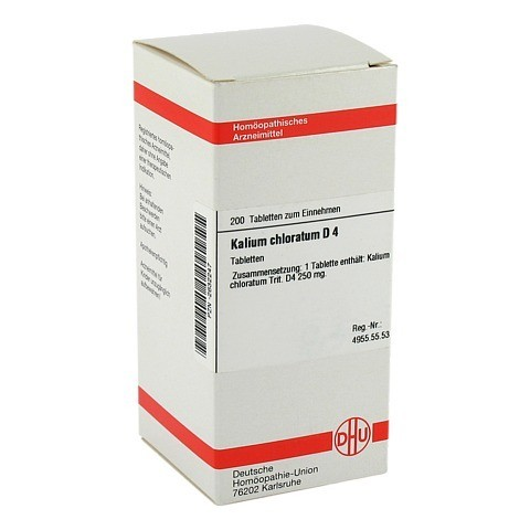 KALIUM CHLORATUM D 4 Tabletten 200 Stück N2