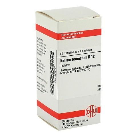 KALIUM BROMATUM D 12 Tabletten 80 Stück N1