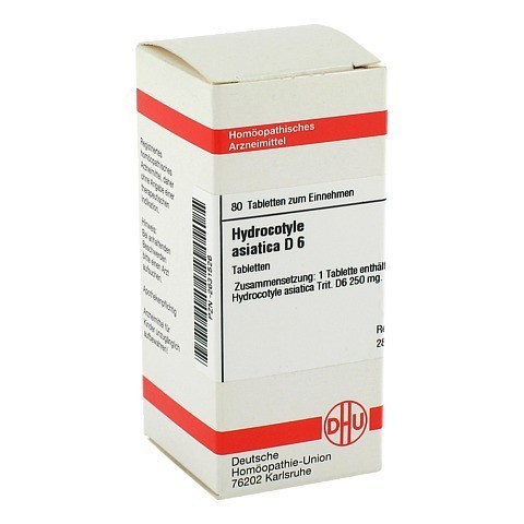 HYDROCOTYLE asiatica D 6 Tabletten 80 Stück N1