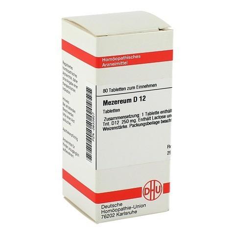 MEZEREUM D 12 Tabletten 80 Stück N1