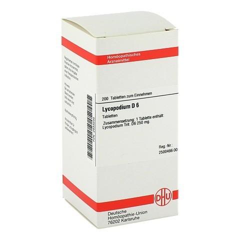 LYCOPODIUM D 6 Tabletten 200 Stück N2