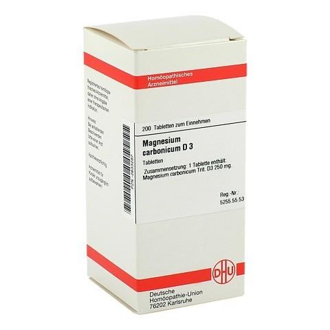 MAGNESIUM CARBONICUM D 3 Tabletten 200 Stück N2