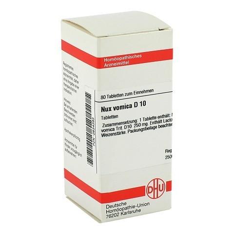 NUX VOMICA D 10 Tabletten 80 Stück N1