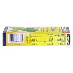 ZIRKULIN Ginkgo Kupfer und B-Vitamine Tabletten 60 Stück - Unterseite