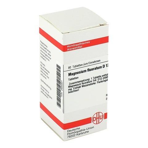MAGNESIUM FLUORATUM D 12 Tabletten 80 Stück N1