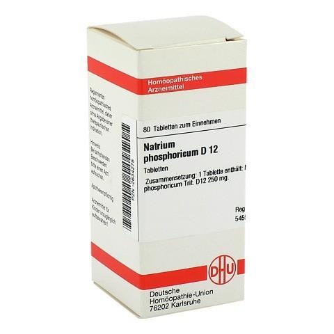 NATRIUM PHOSPHORICUM D 12 Tabletten 80 Stück N1