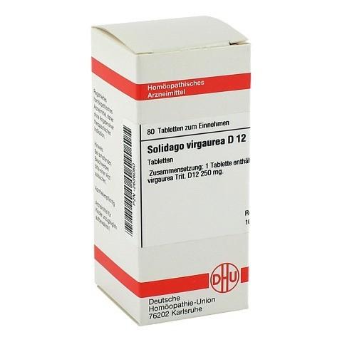 SOLIDAGO VIRGAUREA D 12 Tabletten 80 Stück N1