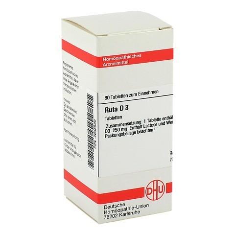 RUTA D 3 Tabletten 80 Stück N1