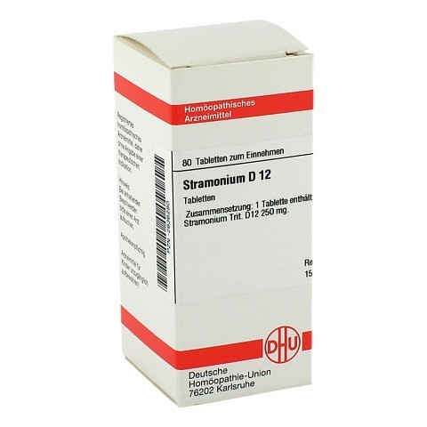 STRAMONIUM D 12 Tabletten 80 Stück N1