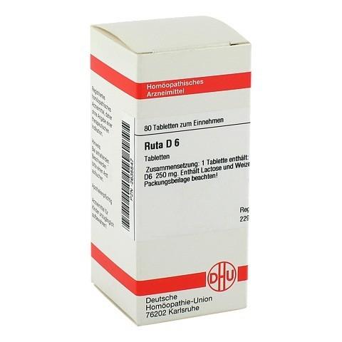 RUTA D 6 Tabletten 80 Stück N1