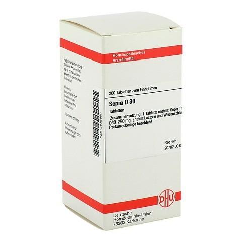 SEPIA D 30 Tabletten 200 Stück