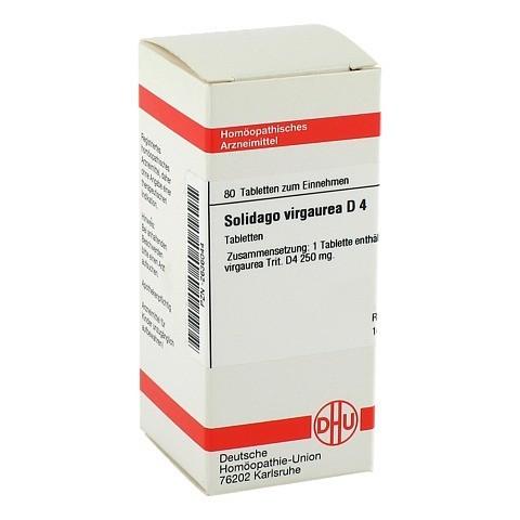 SOLIDAGO VIRGAUREA D 4 Tabletten 80 Stück N1