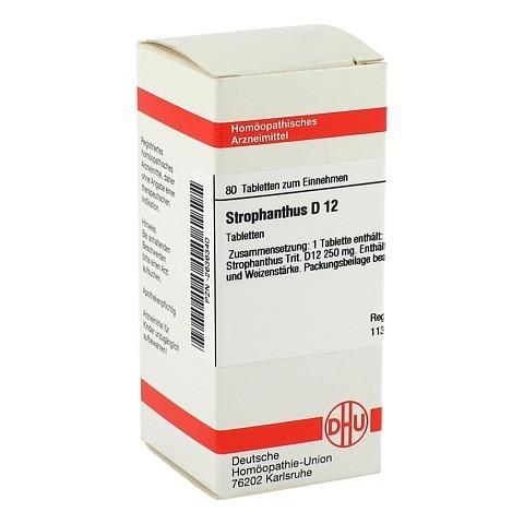 STROPHANTHUS D 12 Tabletten 80 Stück N1