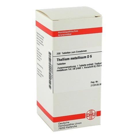 THALLIUM METALLICUM D 6 Tabletten 200 Stück N2