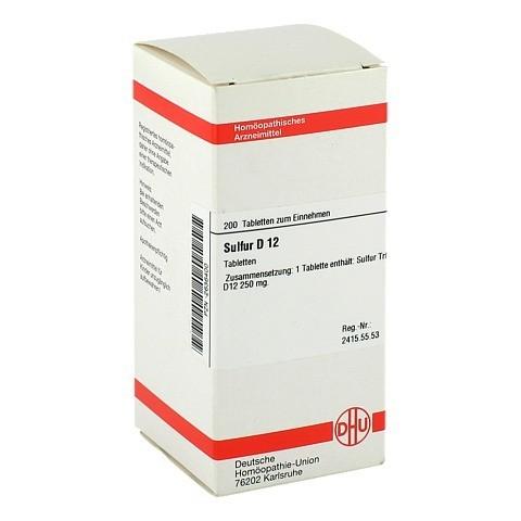 SULFUR D 12 Tabletten 200 Stück N2